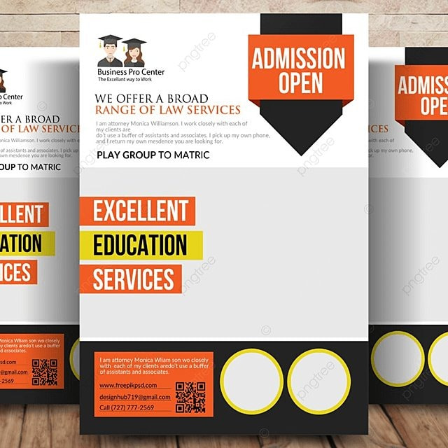 school education flyer template for free download on pngtree