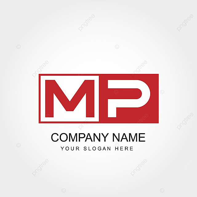 Initial Letter Mp Logo Template Template For Free Download