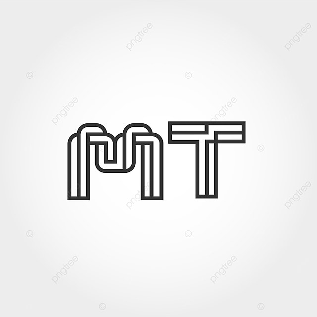 Initial Letter Mt Logo Template Template For Free Download