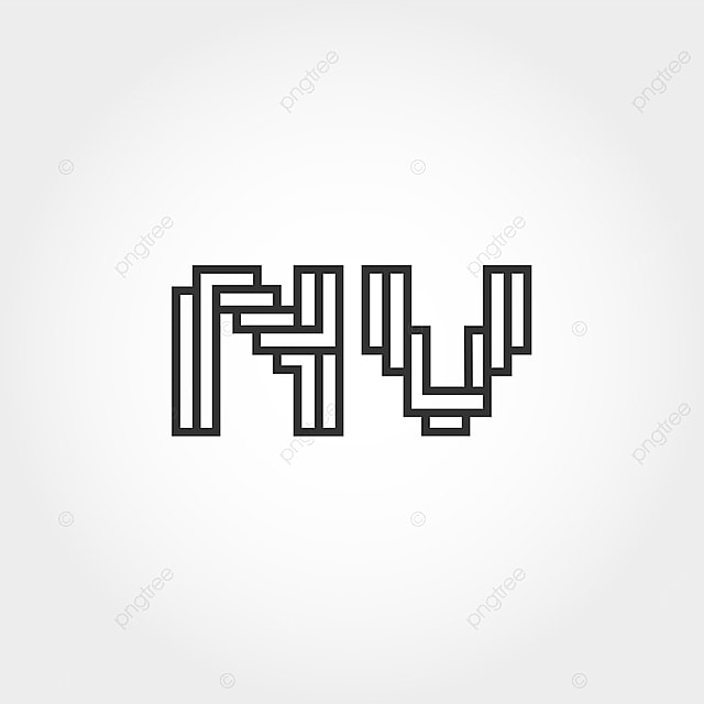 mod u00e8le de lettre initiale nv mod u00e8le de t u00e9l u00e9chargement gratuit sur pngtree