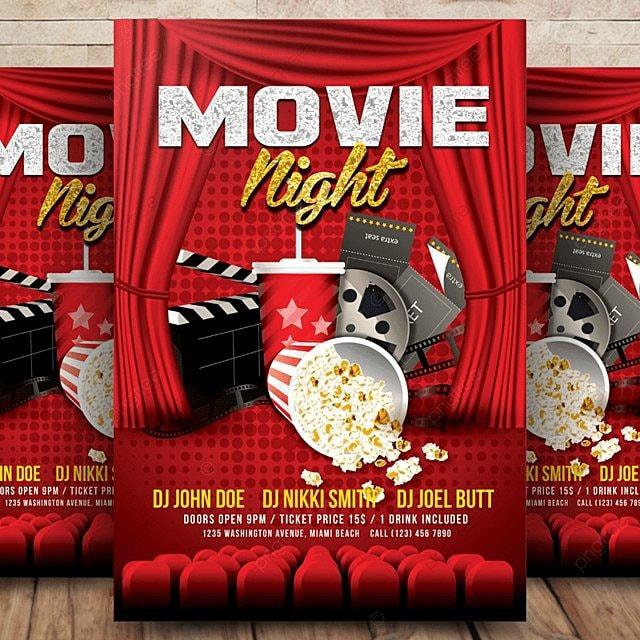 pngtreeに演劇 映画 フライヤーテンプレートの無料ダウンロード