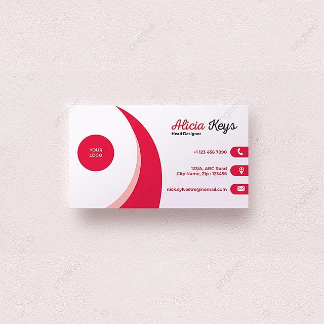 Visitenkarte Design Vorlage Zum Kostenlosen Download Auf Pngtree