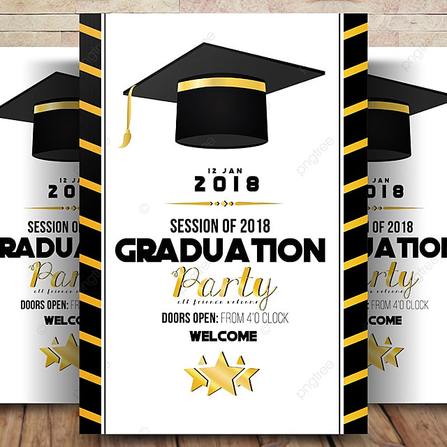 graduation announcement invitation template for free download on pngtree