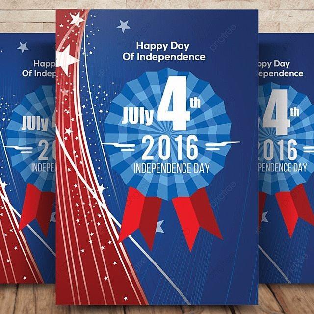 Ngày 4 tháng 7 ngày độc lập Hoa Kỳ tuyên truyền Bản mẫu