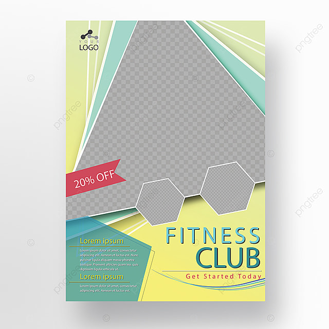 fitness club gym flyer template template for free download on pngtree