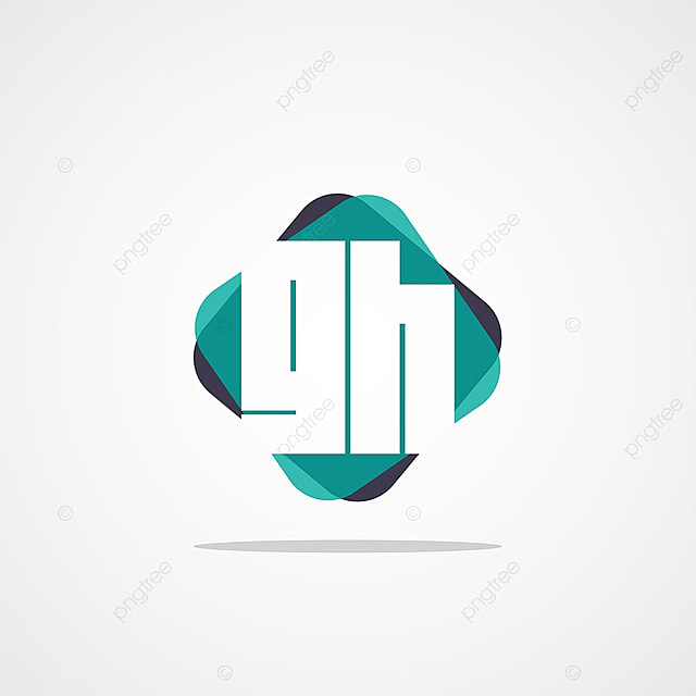 Modèle De Lettre Initiale Gh Logo Modèle De Téléchargement