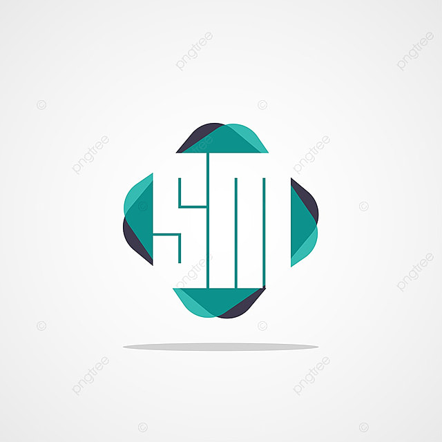 Initial Letter Sm Logo Template Template For Free Download