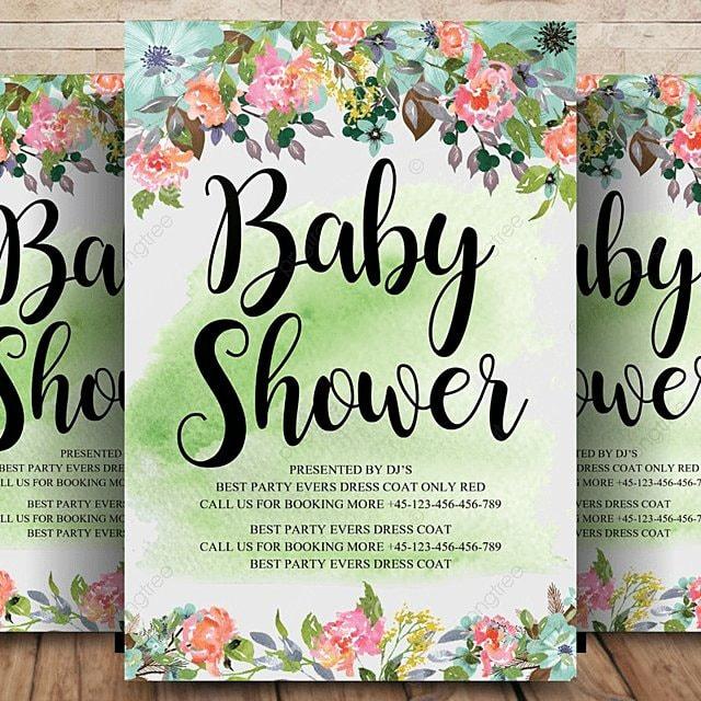 baby party einladung vorlagen Vorlage zum kostenlosen Download auf ...