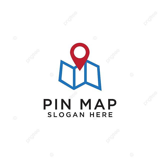 pngtreeにピンマップロゴのデザインテンプレートテンプレートの無料