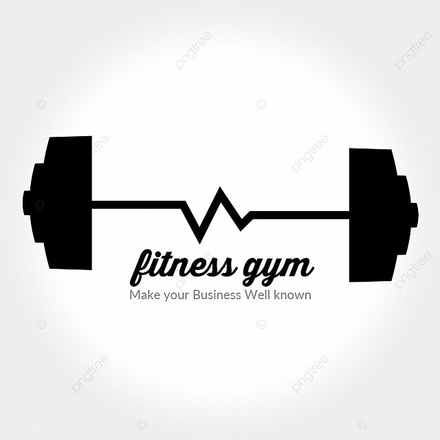 fitness logo template for free download on pngtree