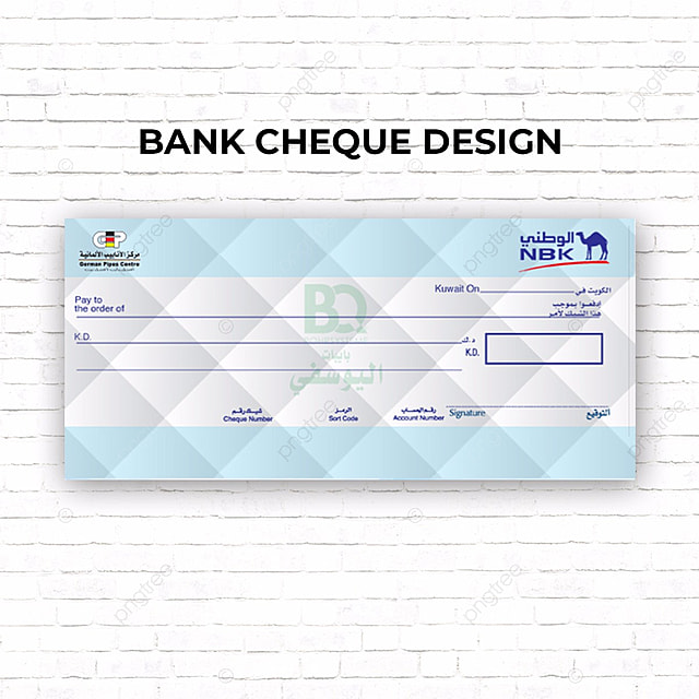 cheque Design Template for Free Download on Pngtree