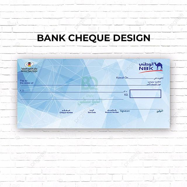 Cheque Design Template