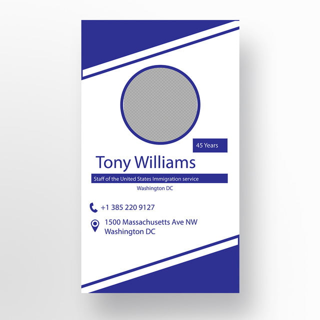 id card design template for free download on pngtree