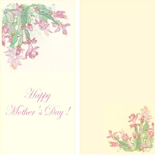 Mothers Day Card Template For Free Download On Pngtree