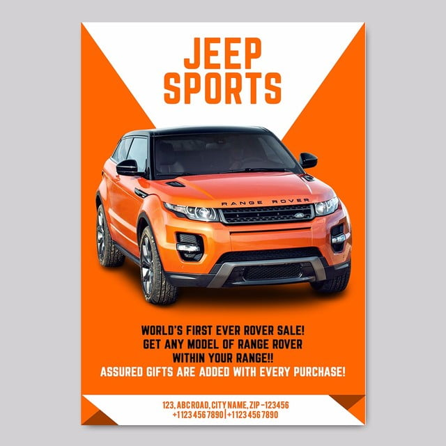 car sale poster template for free download on pngtree