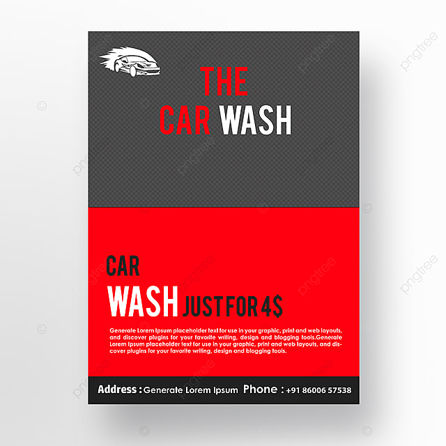Car wash poster template for free download on pngtree car wash poster template maxwellsz
