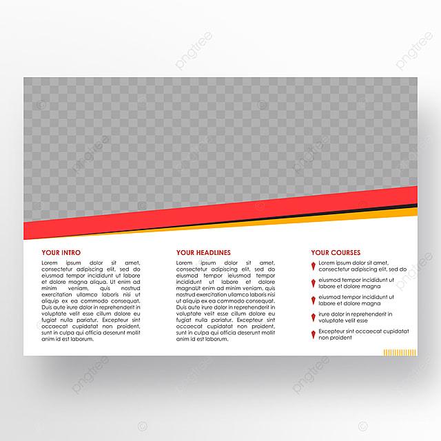 l  u00e9cole brochure mod u00e8le de t u00e9l u00e9chargement gratuit sur pngtree