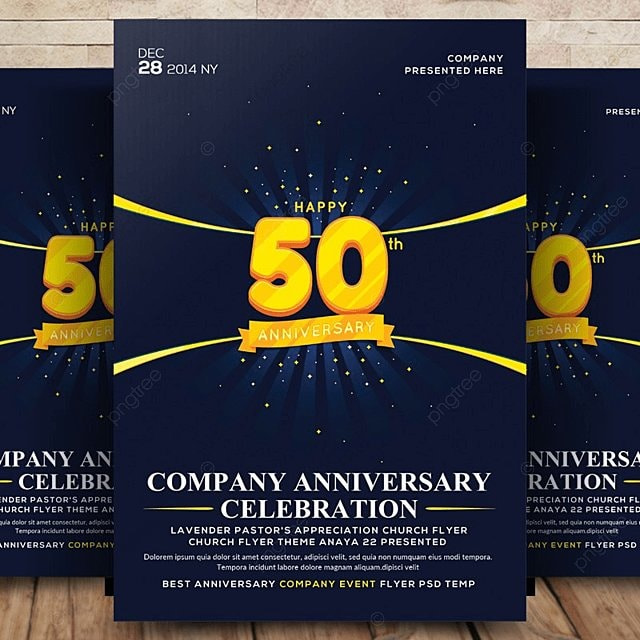 Anniversary Flyer | Company Anniversary Flyer Template For Free Download On Pngtree