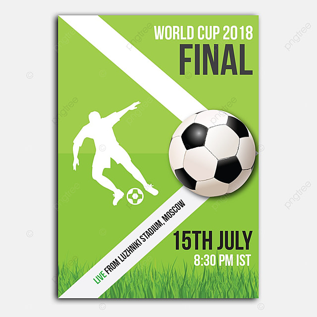 football poster template for free download on pngtree