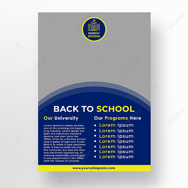 Back to School Poster Template for Free Download on Pngtree
