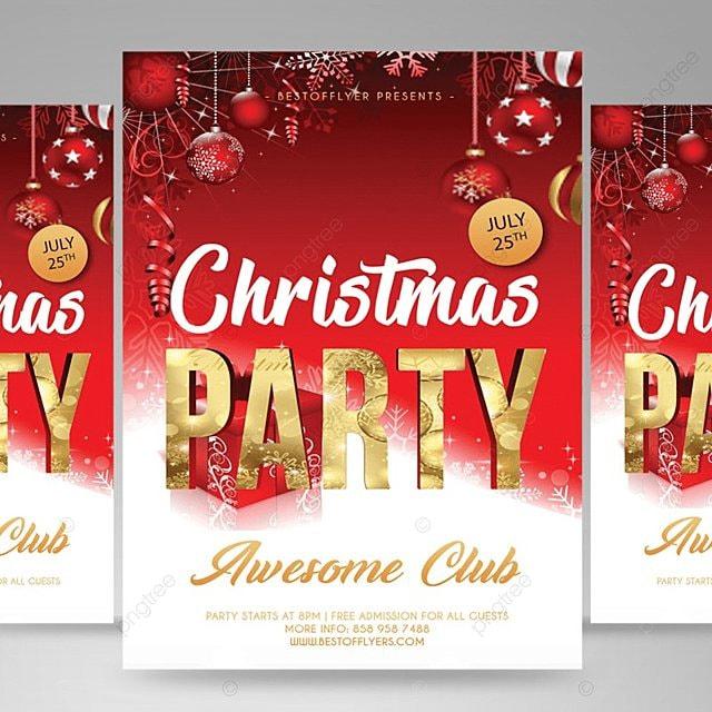 christmas flyer template mod u00e8le de t u00e9l u00e9chargement gratuit