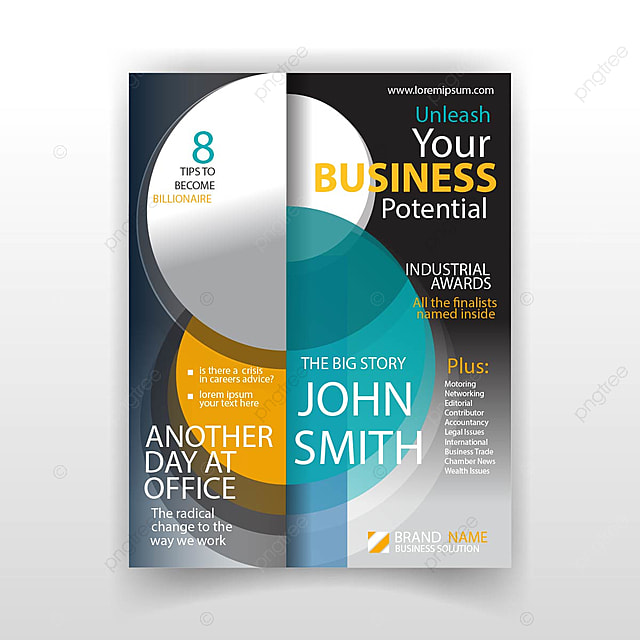 Business magazine template for free download on pngtree business magazine template flashek Choice Image