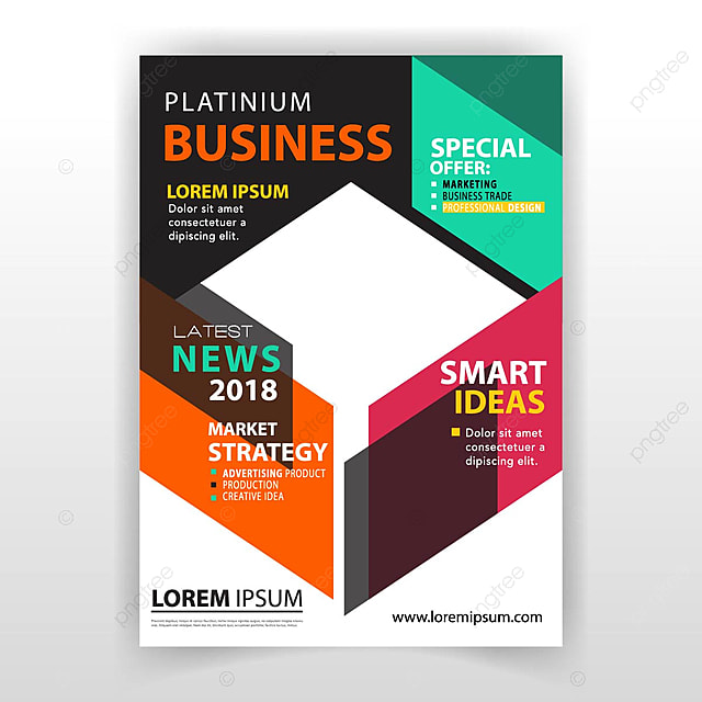 magazine booklet design template for free download on pngtree