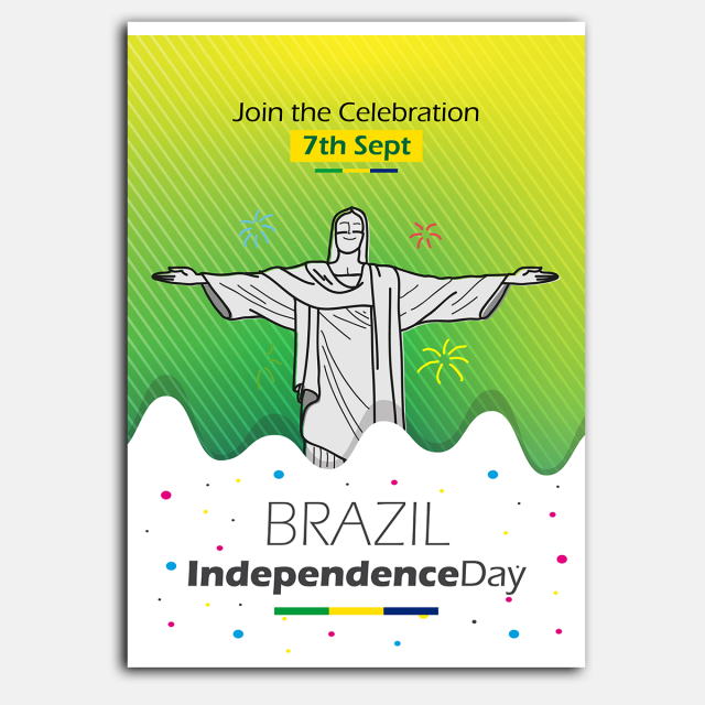 Brazil Independence Day Template for Free Download on Pngtree