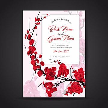 цветочные акварели свадебные приглашения карты