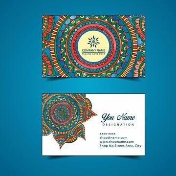 Tarjeta de visita de la acuarela floral, Blanco, Negro, Elegante PNG y Vector