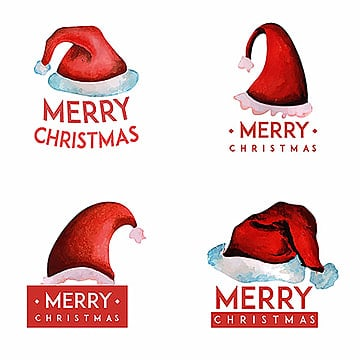 Watercolor Christmas Logo Designs