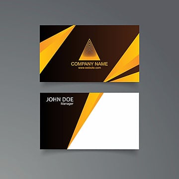 Moderno, limpio y Creative Business Card vector template