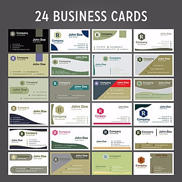 Modern Clean and Creative Business Card Vector Template