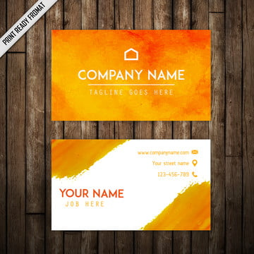 Watercolor Splatter Visiting Card, Watercolor, Splatter, Splatters PNG and Vector