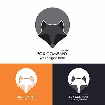 Grey Fox Logo Template