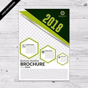Green business flyer