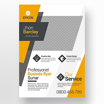 business flyer, Green, Blue, Grey PNG and PSD