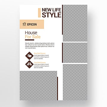 Multipurpose flyer template, A4 A4 A4 Design, Flyer, Modelo PNG e PSD