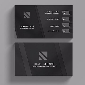 Business card psd 1597 photoshop graphic resources for free download dark business card template business card template png and psd accmission Images