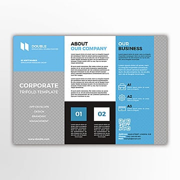 Corporate Trifold plantilla