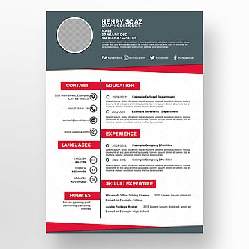 335+ Free Resume Templates, Professional CV Templates For