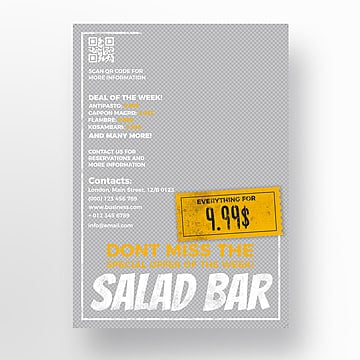 Restaurante flyer template, Menu, Flyer, Restaurante PNG e PSD