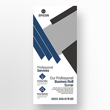 corporate stand banner