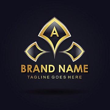 'A' Roayl Vector amazing alphabet logo designs