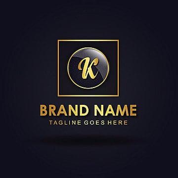 Elegant 'K' Vector amazing alphabet logo designs