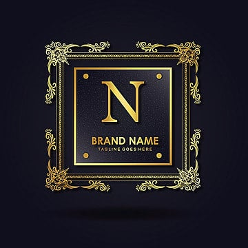 N Vector Amazing Alphabet Logo Designs Vintage PNG And