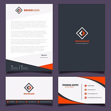corporate stationery template Template