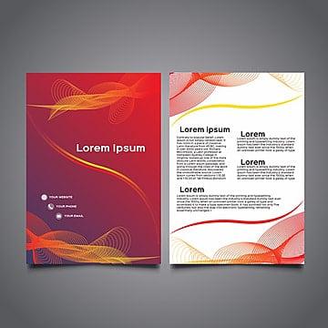 brochure commerciale modèle couleur