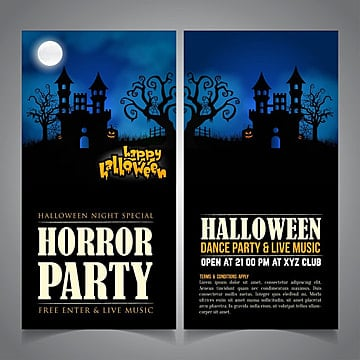 Happy Halloween Templates 19 Design Templates For Free Download