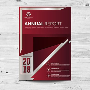 Annual Report Cover Templates, 10 Design Templates for Free Download